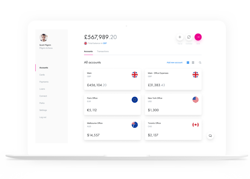 Business Software : Revolut